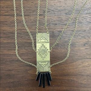 Free People Boho Aztec necklace